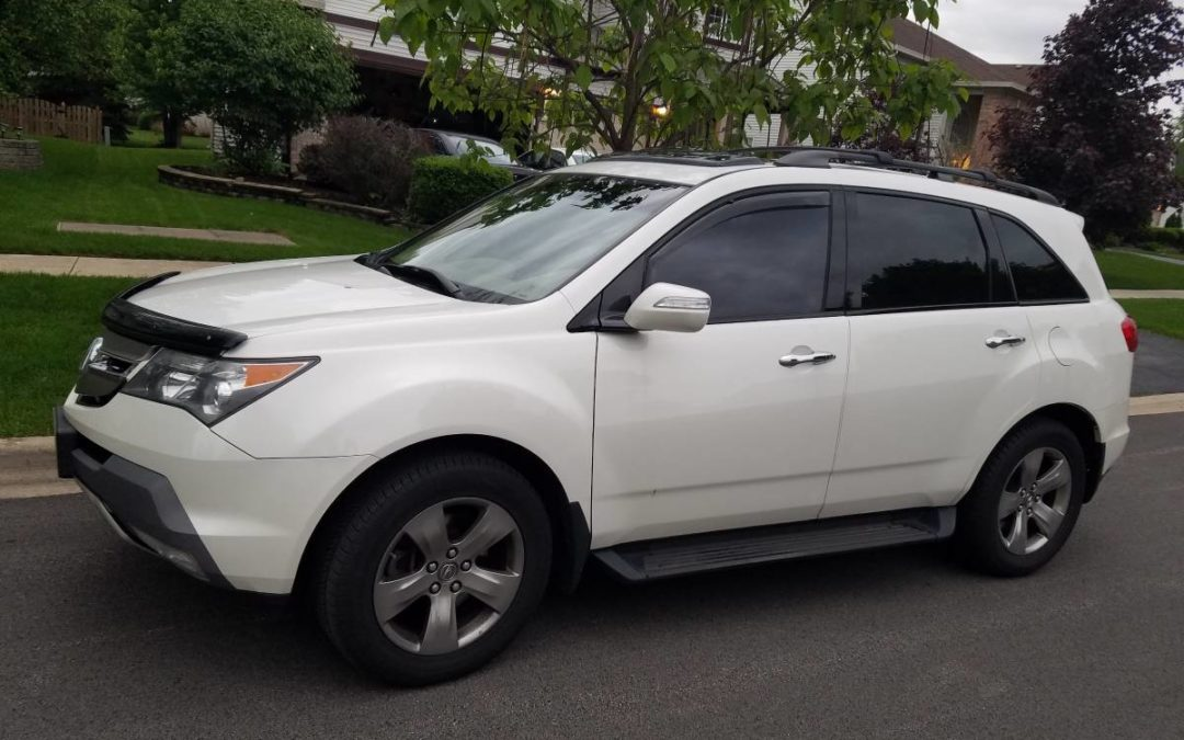 2007 Acura MDX White Sport with technology package – $9500