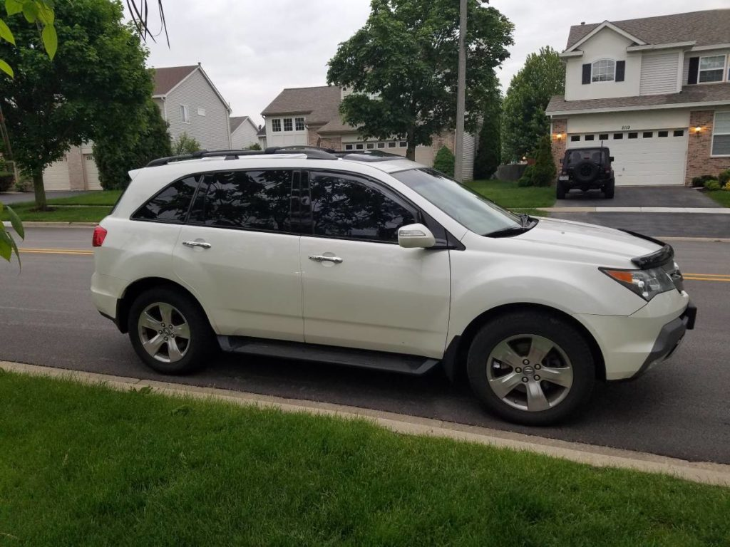 2007 Acura MDX White Sport With Technology Package